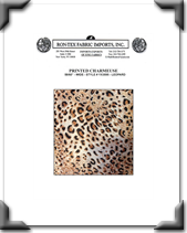 Printed Charmeuse - Style # YX3595 - Leopard