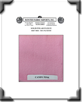 Solid Polar Fleece - Candy Pink