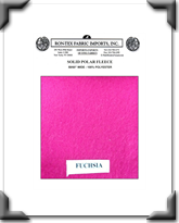 Solid Polar Fleece - Fuschia