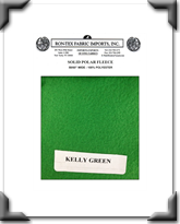 Solid Polar Fleece - Kelly Green