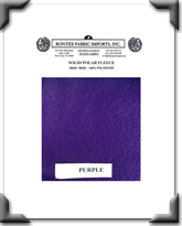 Solid Polar Fleece - Purple